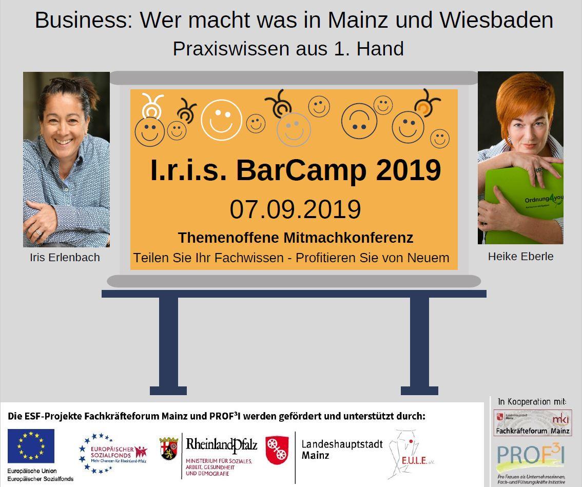 I.r.i.s BarCamp 2019