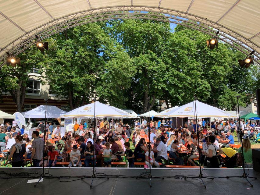 Events Blick von Bühne