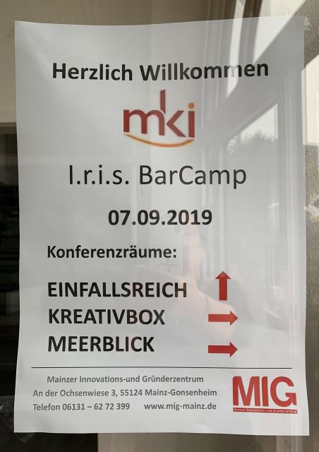 Networking BarCamp Poster